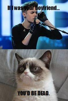 Grumpy cat, grumpy cat meme, grumpy cat humor, grumpy cat quotes, grumpy cat funny …For the best humour and hilarious jokes visit www.bestfunnyjokes4u.com: Animals, Boyfriend, Grumpy Cat Quotes, Funny, Random, Even Grumpycat, Dead, Grumpy Cat Meme, Cat Me