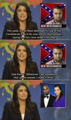 Hahahah: Giggle, Kanye West, Kim Kardashian, Funny Pictures, Funny Stuff, Funnies, Humor, Saturday Night