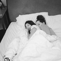 Have actually fell asleep and woken up like this with my BFF.: Friends, Girl, Lesbian Couples, Cuddling, Bed, Bff, Lesbians, Bestfriend