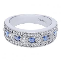 https://www.bkgjewelry.com/blue-sapphire-earrings/777-18k-white-gold-clip-on-diamond-blue-sapphire-earrings.html Gabriel NY | Engagement Rings | Engagement Jewelry: Victorian Ring, Diamond And Sapphire Band, Wedding Ring, Wedding Band, Engagement Ring, Wh