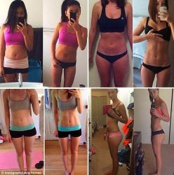 Hundreds of girls who follow Kayla's 12 week guide post their own before and after pictures to her: Picture, Kayla, Before And After Fitness, Before After Fitness, Fitness Healthy Living, Fitness Inspiration, Fitness Motivation, 12 Week, Workout