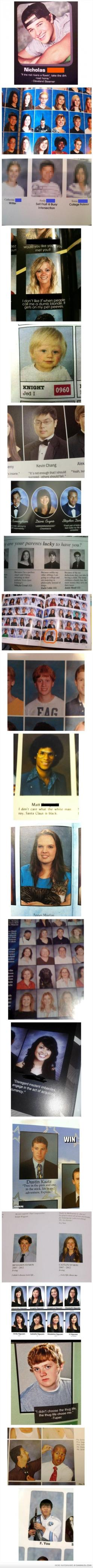 I laughed so hard..: Yearbook Pictures, Yearbook Wins, Year Book, Yearbook Funny, Funny Yearbook, Yearbook Photos, Yearbook Quotes, Yearbook Funnies, Yearbook Fails