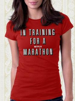 In Training for a Netflix Marathon Movie Tshirt 100% Cotton Shirt Men Women Kids Geek Gift Funny: Geek Tshirt, Movie Tshirt, Funny T-Shirt, Geek Gift, Funny Tshirt, Netflix Shirt