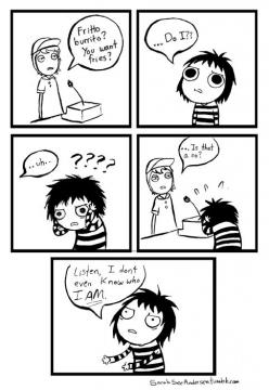 Indecisiveness, conflict I frequently encounter in my every day life.: Sarah Andersen, Sarah Doodles, Doodletime, Doodle Time, Funny Stuff, Funnies, Smile, Love Doodles