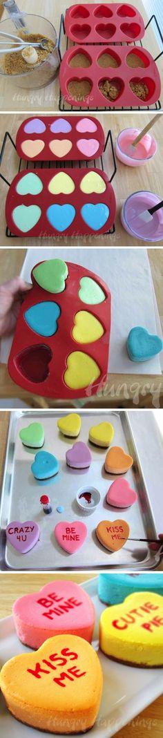 Ingredients:1 cup graham cracker crumbs (15 squares)pinch of cinnamon1/2 stick butter (melted)16 ounces (2 blocks) cream cheese, softened 1 cup sugar3 large eggs2 cups sour cream 1 teaspoon vanilla extractfood coloring – pink, purple, blue, green, yellow,