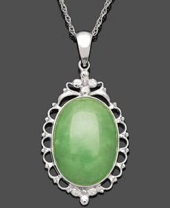 Jade: Chain Jewelry, Jewelry Jadeite, Jade Jewelry, Jade Dynasty, Sterling Silver Necklaces, Jade Pearls, Jade Green 2015
