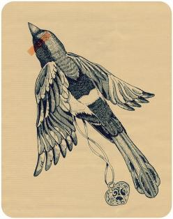 magpie: Tattoo Ideas, Tattoos, Tattoo Inspiration, Google Search, Illustration, Tattoo Designs, Art, Magpie Tattoo, Birds