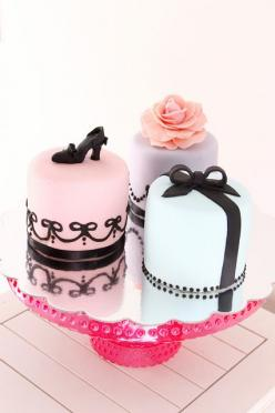 Mini Cakes for her by Bake-a-boo Cakes NZ, via Flickr: Cake Recipe, Cakes Nz, Minis, Mini Cakes, Bake A Boo Cakes