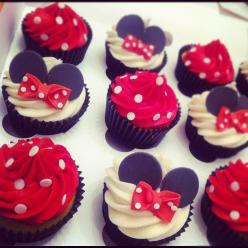 Minnie Mouse Cupcakes: Mice, Minniemouse, Food, Minnie Mouse, Mouse Cupcakes, 2Nd Birthday, Party Ideas, Birthday Party, Birthday Ideas