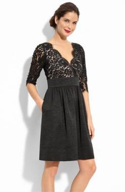 "mother of the groom. Nordstrom. $148 @Leilani Johnson, for Mom?  I can hear her say it now though, ""its too short"" :-): Lace, Style, Wedding, Dresses, Eliza"