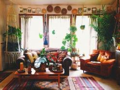My Nest: Megan Starr. Lots of pretty home pics!: Interior, Bohemian Style Rooms, Home Tours, Bohemian Homes, Bohemian Living Rooms, Boho Living Room Ideas, Bohemian Bedrooms, Moon Blog