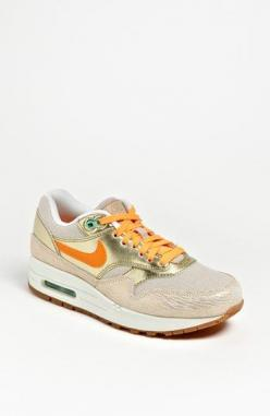 Nike 'Air Max 1 Vintage' Sneakers (Women) available at #Nordstrom: Vintage Sneakers, Nike Free Shoes, Cheap Nike, Nike Shoes, Discount Nikes, Air Max 90, Sneakers Women, Nike Air Max