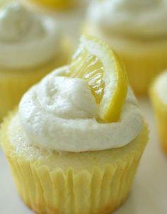 Normal Recipe: Limoncello cupcakes: Cupcakes Cake, Lemon Buttercream, Cuppycake, Lemon Curd, Cuppy Cake, Cup Cake, Lemon Cupcakes, Curd Filling