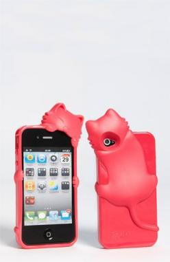 Now I only need a iPhone to go with it.  - Cara Couture 'Peeking Cat' iPhone 4 & 4S Case | Nordstrom: Cats, Iphone Cases, How Couture, Iphone 4S, Phonecases, Couture Peeking, Kitty