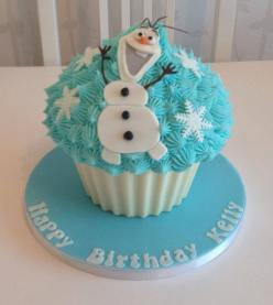Olaf giant cupcake: Search, Cakes Cupcakes, Olaf Frozen Cupcakes, Frozen Smash Cake, Jumbo Cupcake, Giant Cupcakes, Frozen Cakes, Cupcakes Gigante, Con Google