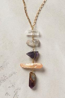 quartz necklace /anthropologie: Quartz Necklace, Crystal Necklace, Quartz Ladder, Ladders, Jewelry Accessories, Ladder Necklace, Anthropologie Com, Necklaces, Stone Necklace