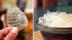 "Recipe: How to make these ""glass"" potato chips (taste like chips but are clear): Clear Potato, Recipe, Clear Chip, Chips Taste, Food"