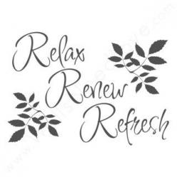 Relax, renew refresh #SPAugust: Renew Refresh, Bathroom Wall Quotes, Inspiration, Bathroom Quotes Decor, Decals, Wall Decal, Relax Quotes, Relax Renew, Spa Quotes