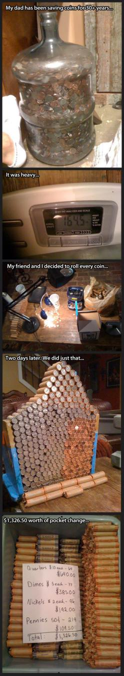 Saving coins for more than 30 years…: Ifunny Com, 30 Years It, Funny Shit, My Dad, Funny Stuff, Saved Coins, Proverbs Funnys Quotes, Saving Coins, 30 Years Keep
