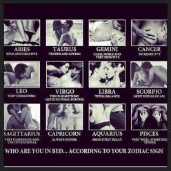 Scorpio & Aries oh oh! Cancer you suck: Zodiac Signs, Pisces, Aries, Sexy, Quotes, Bed, Scorpio, Leo, Virgo