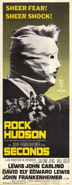 Seconds by John Frankenheimer, 1966.  Starring Rock Hudson!
