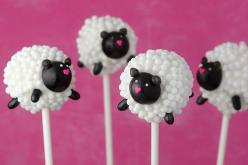 sheep: Sheep Cake, Ideas, Sweet, Cupcake, Cakes, Food, Cake Pops, Sheep Pop, Cake Pops