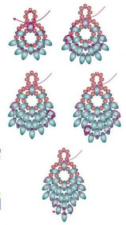superduo belarritakoak: Beading Patterns, Beaded Earrings Pattern, Twin Beads, Super Duo, Superduos Earrings, Superduo Belarritakoak, Superduo Earring
