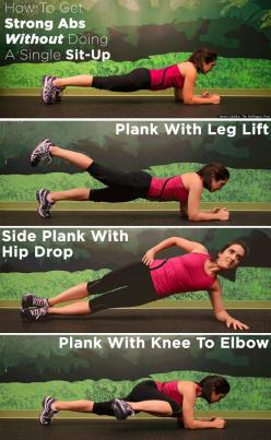 The ab workout you need to try (and it doesnt include one single sit-up) Check out the website for more.: Abb Workout, Fitness Abs, Abs Workout, Plank Workout, Ab Workouts, Work Out, Single Sit Up, Sit Ups