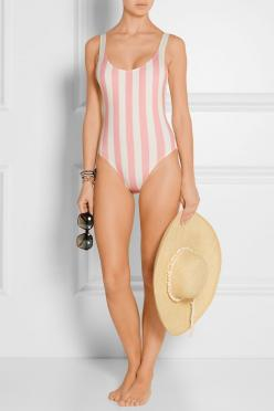 The Anne-Marie Solid and Striped Swimsuit.: Anne Marie Solid, Bathing Suits, Anne Marie Striped, Swimsuits, Bathingsuits, Bikini, Swimsuit ️ ️, Products