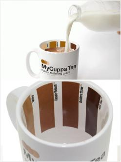 The perfect #Coffee Cup -- Just pour the right amount of milk to match  Love Coffee - Makes Me Happy: Amount, Coffee Colors, Brownish Color, Coffee Cups, Cup Of Coffee, Color Matching, Design