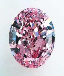 The Steinmetz Pink Diamond was discovered in southern Africa and is the largest Fancy Vivid Pink diamond known in the world. It weighs 59.60 carats: Gemstones, Pinkdiamond, Steinmetz Pink, Vivid Pink, Weighs 59 60, Pink Diamonds, Fancy Vivid