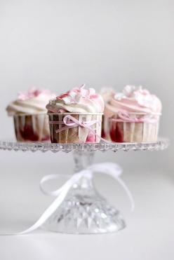 ~ these are gorgeous!: Cup Cakes, Idea, Sweet, Recipe, Wedding, Food, Pink Cupcakes, Dessert