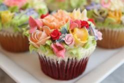 This is what my Easter cupcakes were SUPPOSED to look like... It didnt work : Fun Recipes, Floral Cupcake, Sweet, Cupcakes, Flower Cupcake, Incredible Cupcake, Cup Cake