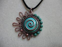 @Tiffany Greenslet- oh my gosh i LOVE LOVE LOVE this! Looks hard though.  oh my gosh this is a work of art: Wire Jewelry, Jewelry Making, Wire Work, Jewelry Wire, Wire For, Wirework, Jewelry Ideas, Wire Wrapped Pendant, Wire Wrapping