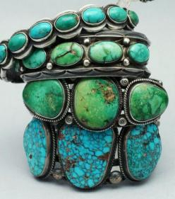 Turquoise Jewelry - made by Native American Indians: Fashion, Style, Color, Turquoise Cuff, Turquoise Jewelry, Accessories, Turquoise Bracelets, Native American