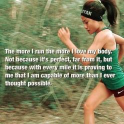 Very true for me. #run #loveyourself  ***I want to be your free coach. I love helping people reach their goals! Sign-up today! No credit card needed! It's FREE!: https://www.teambeachbody.com/tbbsignup/-/tbbsignup/free?referringRepId=543655: Inspirati