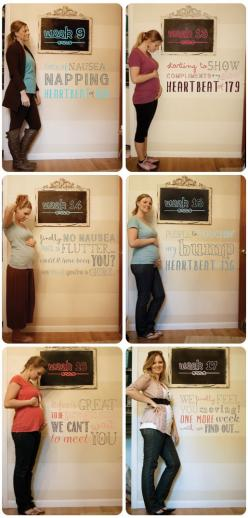 Weekly bump pregnancy photos. I like that it uses the chalkboard and the typography on the wall!: Weekly Pregnancy Photo, Pregnancy Pictures, Photo Ideas, Pregnancy Photos, Weekly Pregnancy Picture, Pregnancy Week By Week Photo, Chalkboard, Week By Week P
