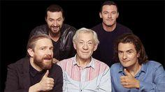 What's with the Bilbo beard. Martin must have felt left out with all the bearded dwarves around.