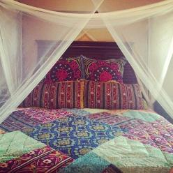 What Inspires You to Decorate? #GetInspired #ad | Mom Spark - A Trendy Blog for Moms - Mom Blogger: Bohemian Bedspreads, Boho Bed Spread, Moroccan Quilt, Boho Quilt, Boho Bedspreads, Patchwork Quilt, Bohemian Style Quilts