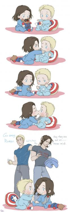 Baby Problem: Baby Steve and Bucky: Babies, Marvel Avengers, Baby Stories, Baby Marvel, Baby Steve, Avengers Marvel, Hell, Baby Problem, Random Stuff
