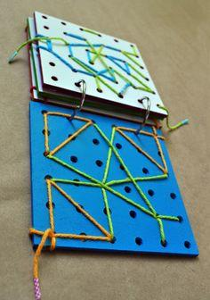 DIY Lace Boards - Great idea! Love these for road trips!