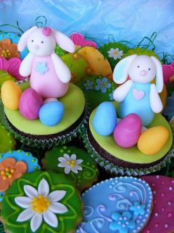 Easter cupcakes: Bunny Cupcakes, Cookies Macarons Cupcakes, Cupcakes Ideas, Easter Bunnies, Bunnies Cupcakes, Easter Cupcakes, Easter Bunny