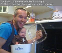 for when my friends start having kids :D: Baby S Face, Babysitter, Giggle, Funny Stuff, Funnies, Friend, Kid