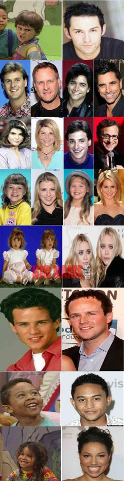Full House Cast Then and Now!! Weird how some people have changed a lot and others look the same....: Full House Now, Full House 3, Full House Becky, Full House Family, Full House Then And Now, Fullhouse, Full House Cast Then And Now, Full House Kimmy