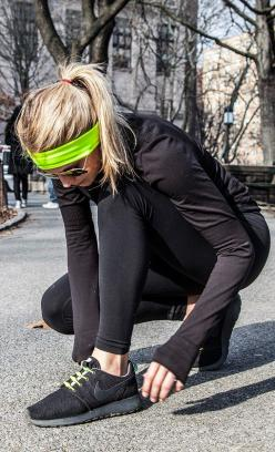 Get geared up for fall and winter running. It's coming and we don't stop! #cap10k #savethedate #april12: Health Fitness, Fall Workout Outfit, Color, Running Headband, Sportswear Volleyball, Workout Outfits, Fall Running Outfit Workouts, Winter Wor