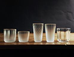 glass: Glasses E8, Frosted Glasses, Glass Collection, Design, Ceramics Glass