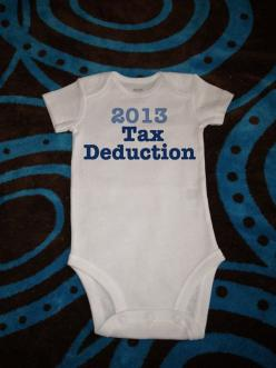 Haha!! Too funny! Baby onesie. I love my tax baby. Just in time. :): One Piece Bodysuit, 15 99, Stillhavingfun, Baby Clothes, Baby Girl, Baby Stuff, Kid
