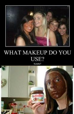 i just died: Face, Nutella Makeup, Giggle, Funny Stuff, Humor, Funnies, Things, Hilarious
