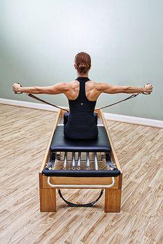 Love her back!!!!! This is the consequence of pilates girls- just do it! :) No wonder we love it!