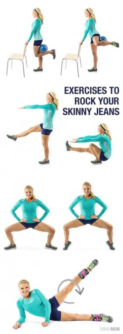Lower body exercises to get your legs lean: Legs Lean, Leg Exercises, Lower Body, Skinny Jeans, Lean Leg, Work Out, Lower Bodies